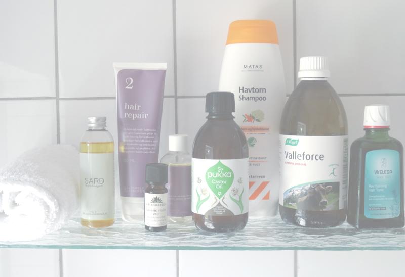 silikoner i hårprodukter