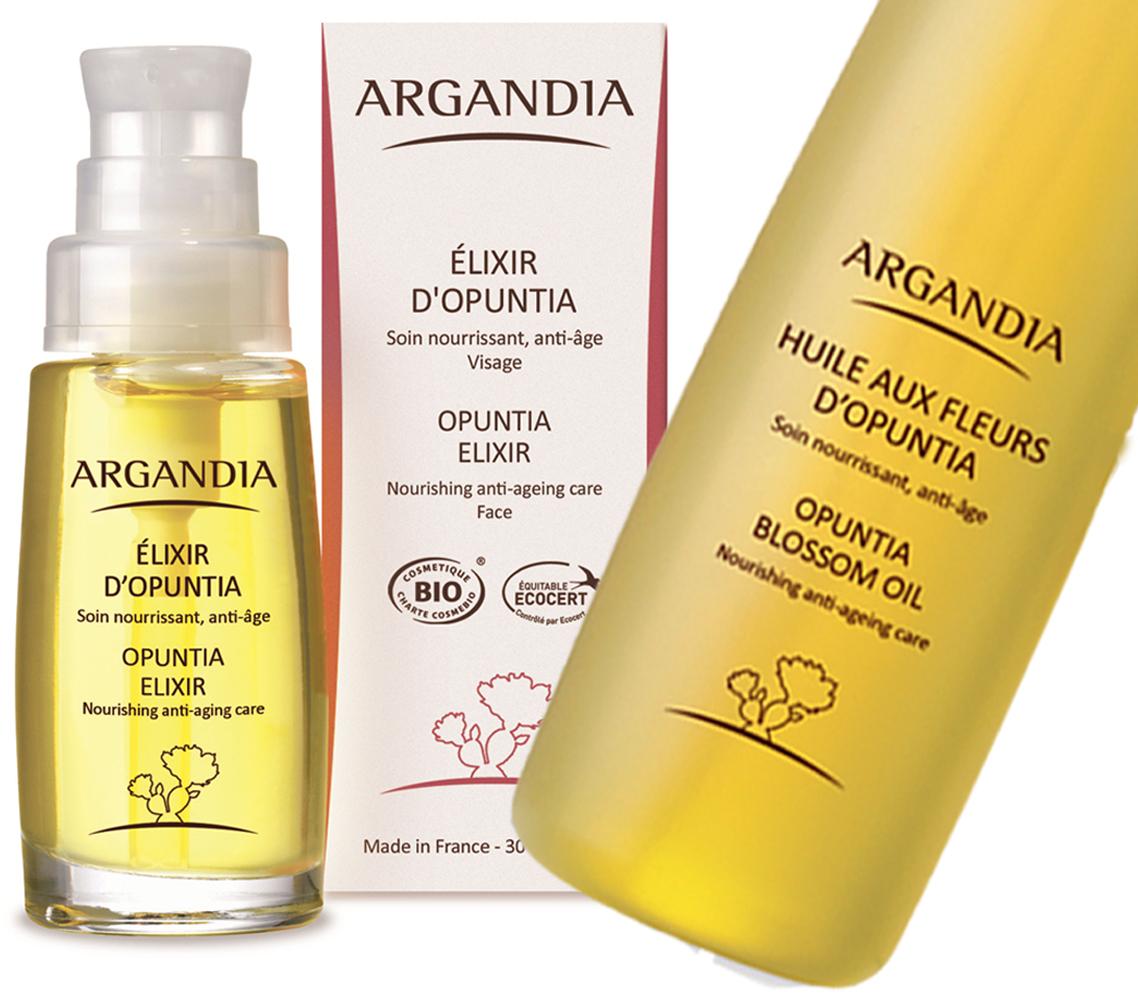 2. Argandia Opuntia Elixir og blossom oil